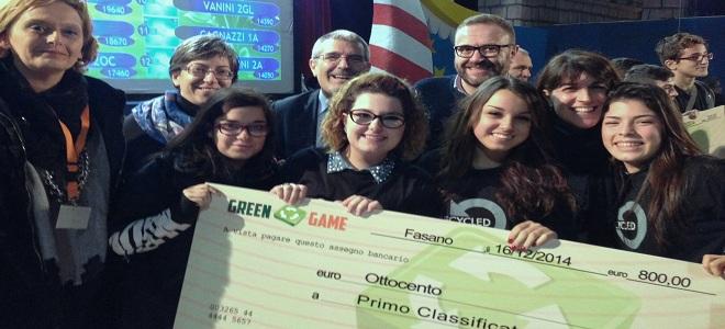 green game - LA FINALE 2014