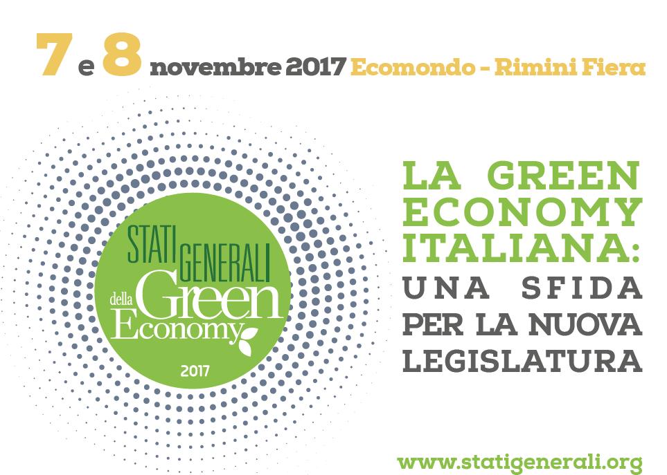 stati generali green economy ecomondo 2017