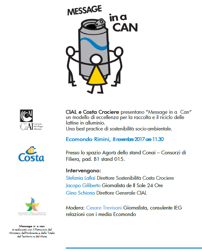 message in a can _ ecomondo 2017 _ invito 8 novembre