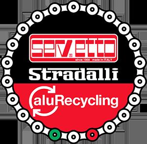 LOGO SERVETTO STRADALLI ALURECYCLING