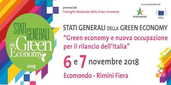 STATI GENERALI GREE ECONOMY 2018